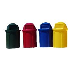 Colorful Round Receptacles