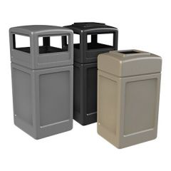 Square Commercial Trash Receptacles