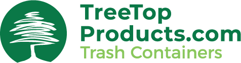 treetop trash container